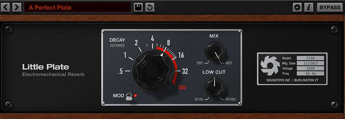 Little Plate Is A Free Reverb Plugin From SoundToys
