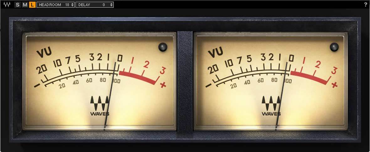 Waves' Free Metering Plugin, VU Meter, Can Boost Your Mixing Workflow