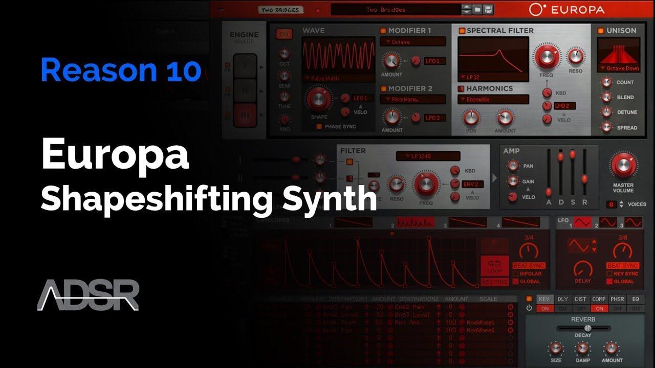 Reason 10 - Europa Shapeshifting Synthesizer