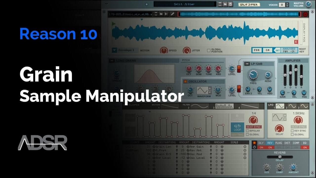 Reason 10 - Grain Sample Manipulator