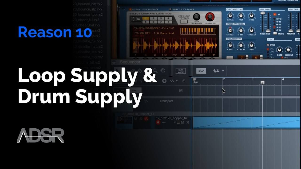 Reason 10 - NEW Loop Supply & Drum Supply