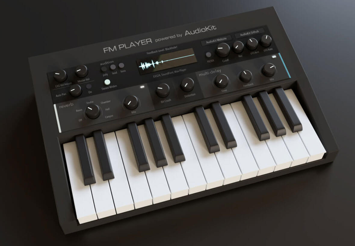 FM Player, Free iPad Instrument, Emulates Classic DX7 Synthesizers