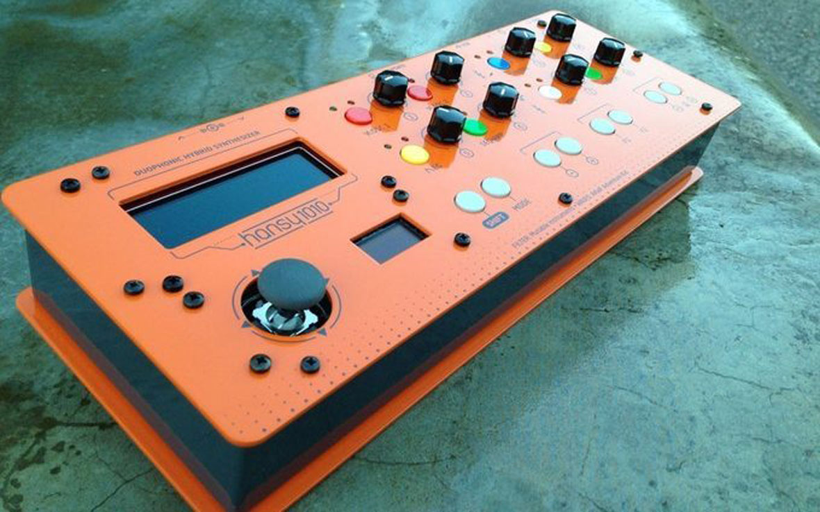 "The HANSY1010 Is A DIY Synth With A ""Digital Brain"" and An ""Analog Heart"""