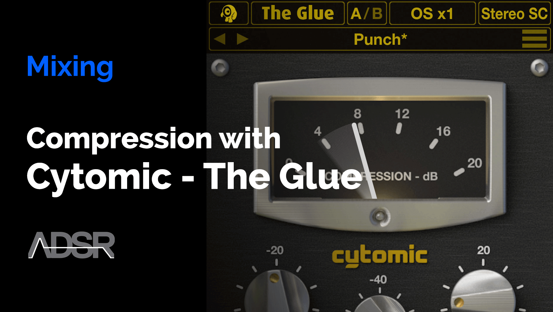 Electronic Music Compression with The Glue