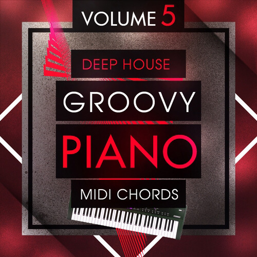 Deep House Groovy Piano MIDI Chords 5