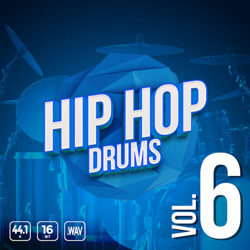 Iconic Hip Hop Drums Vol. 6