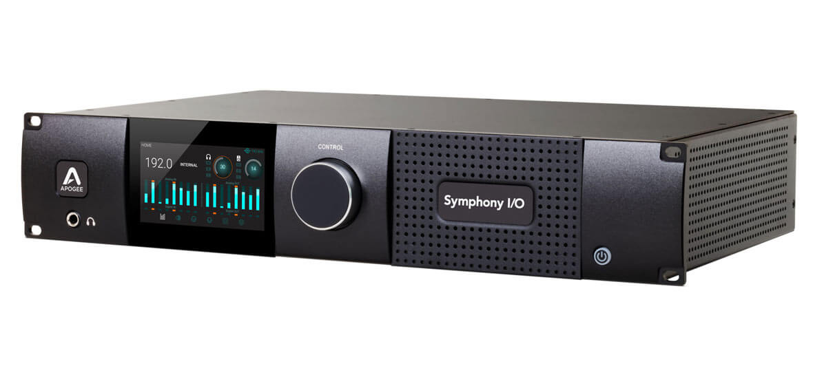 Apogee's Symphony I/O Mk II Interface Is Available With Waves Soundgrid Connectivity