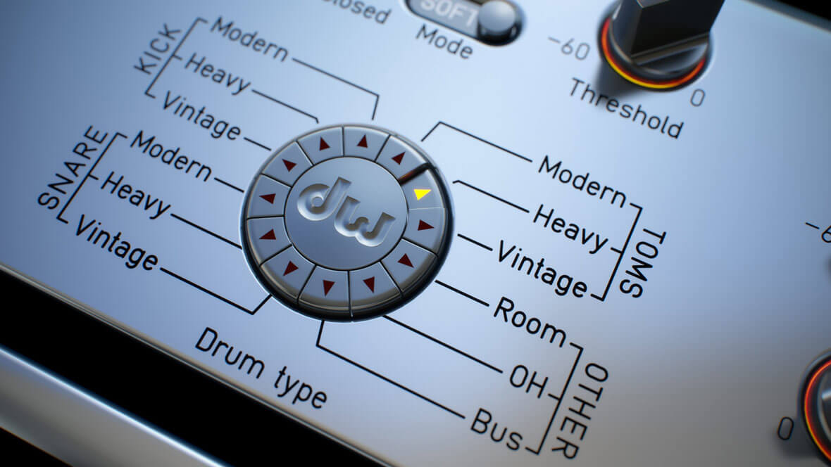Audified Releases DW Drum Enhancer, All-In-One Processing Tool
