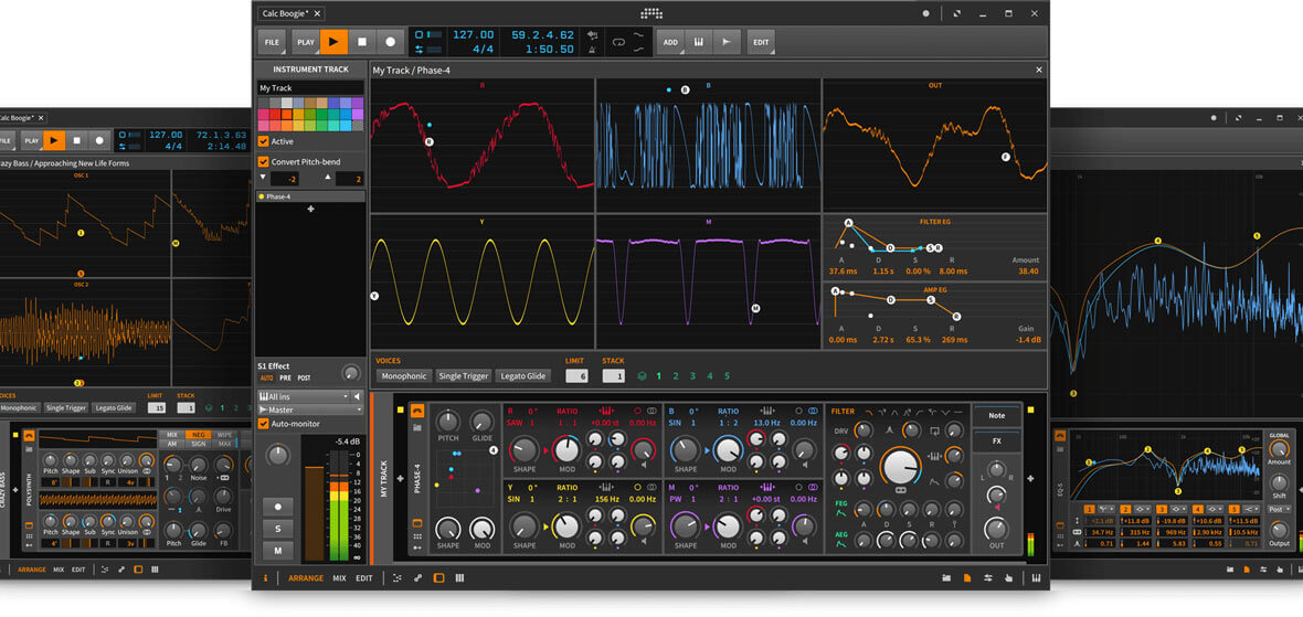 Bitwig Studio 2.3 Announced, Brings New Phase Manipulation Synthesizer