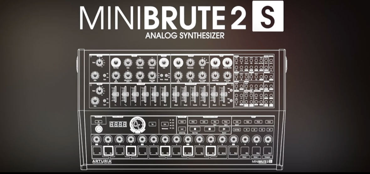 Arturia Unveils The MiniBrute 2S Sequencer Synth