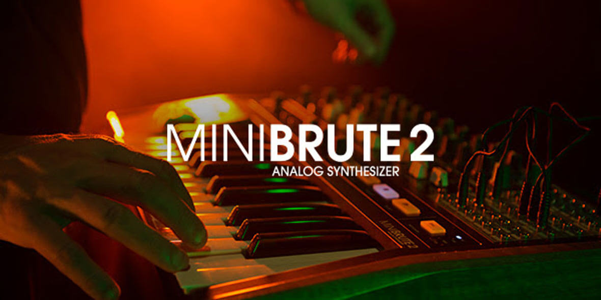 """Arturia Announces The MiniBrute 2, """"Wired-up Analog Mutant"""""""