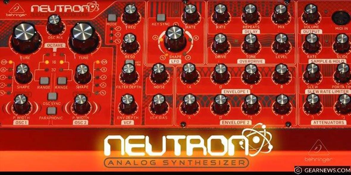 Behringer Announces Neutron, Semi-Modular Synthesizer