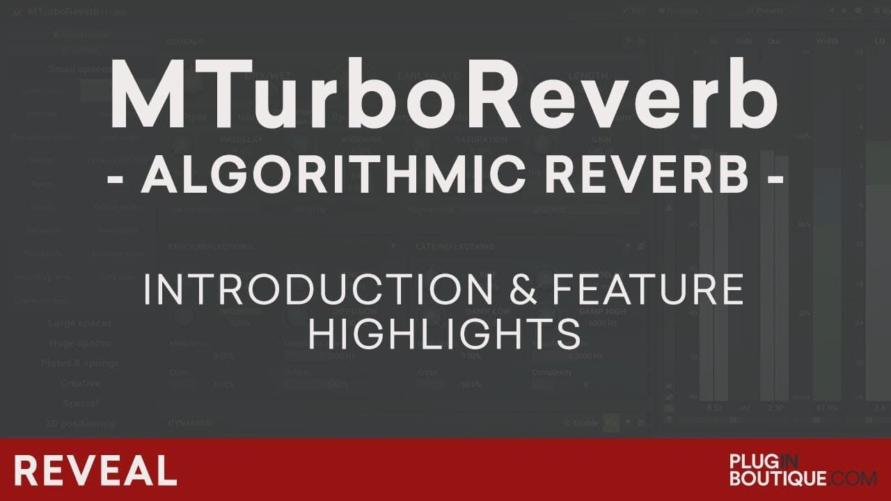 Video related to MTurboReverb