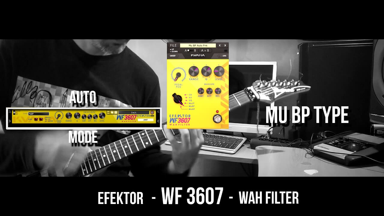 Video related to Efektor WF3607 Wah Filter