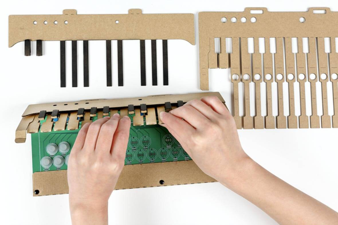 These DIY Cardboard Keyboard Kits Work With Your DAW