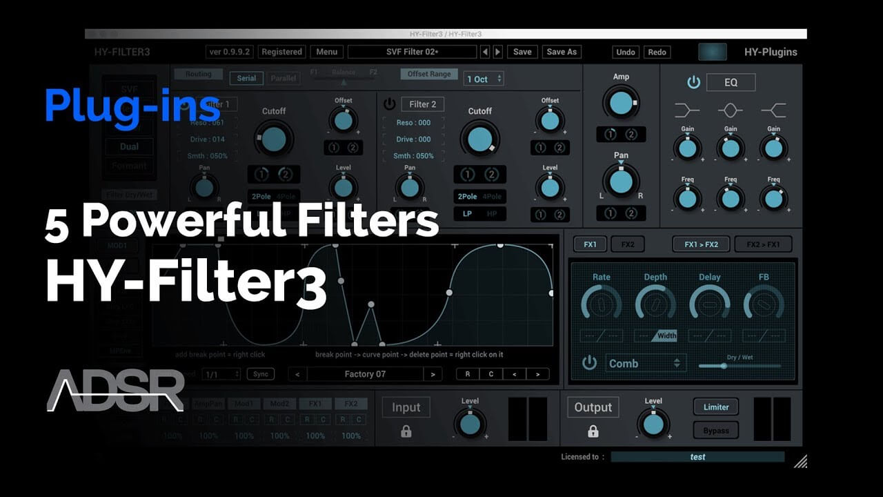 Video related to HY-Filter3