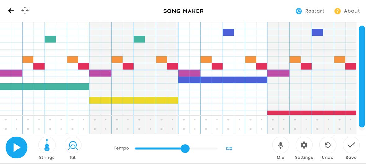 "Write Melodies In Your Browser With Google's New ""Song Maker"""