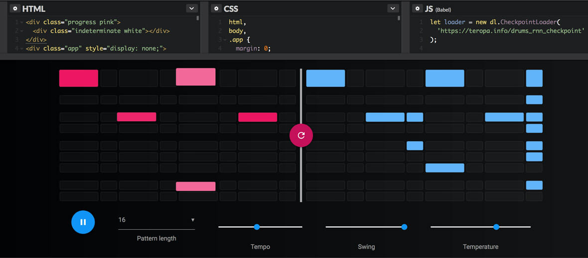 In-Browser Drum Machine Uses Deep Learning To Create New Loops