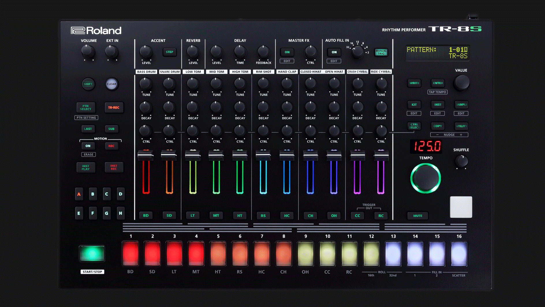 Roland TR-8S Rhythm Performer - First Look - ADSR