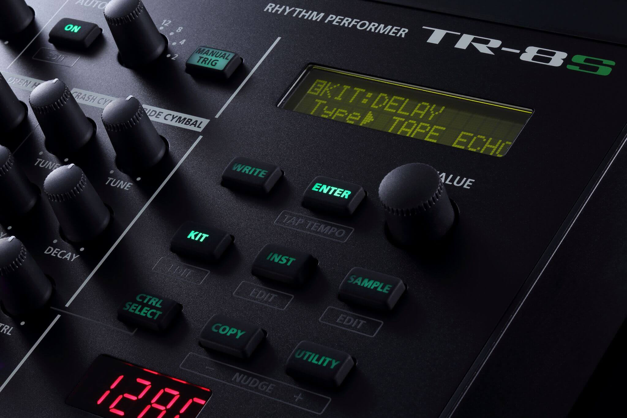 Roland Unveils the TR-8S Rhythm Performer - ADSR