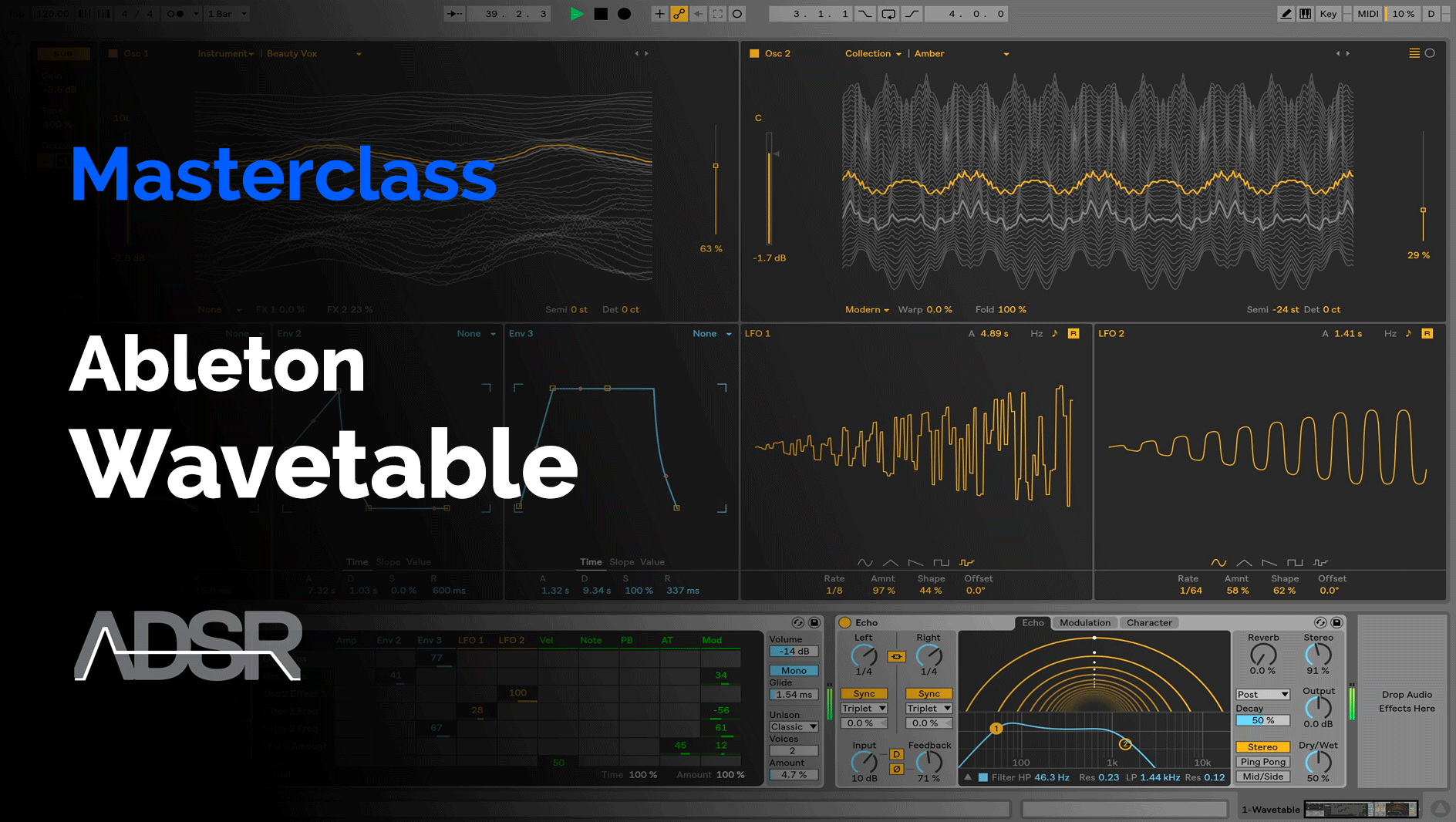 Ableton Wavetable Masterclass