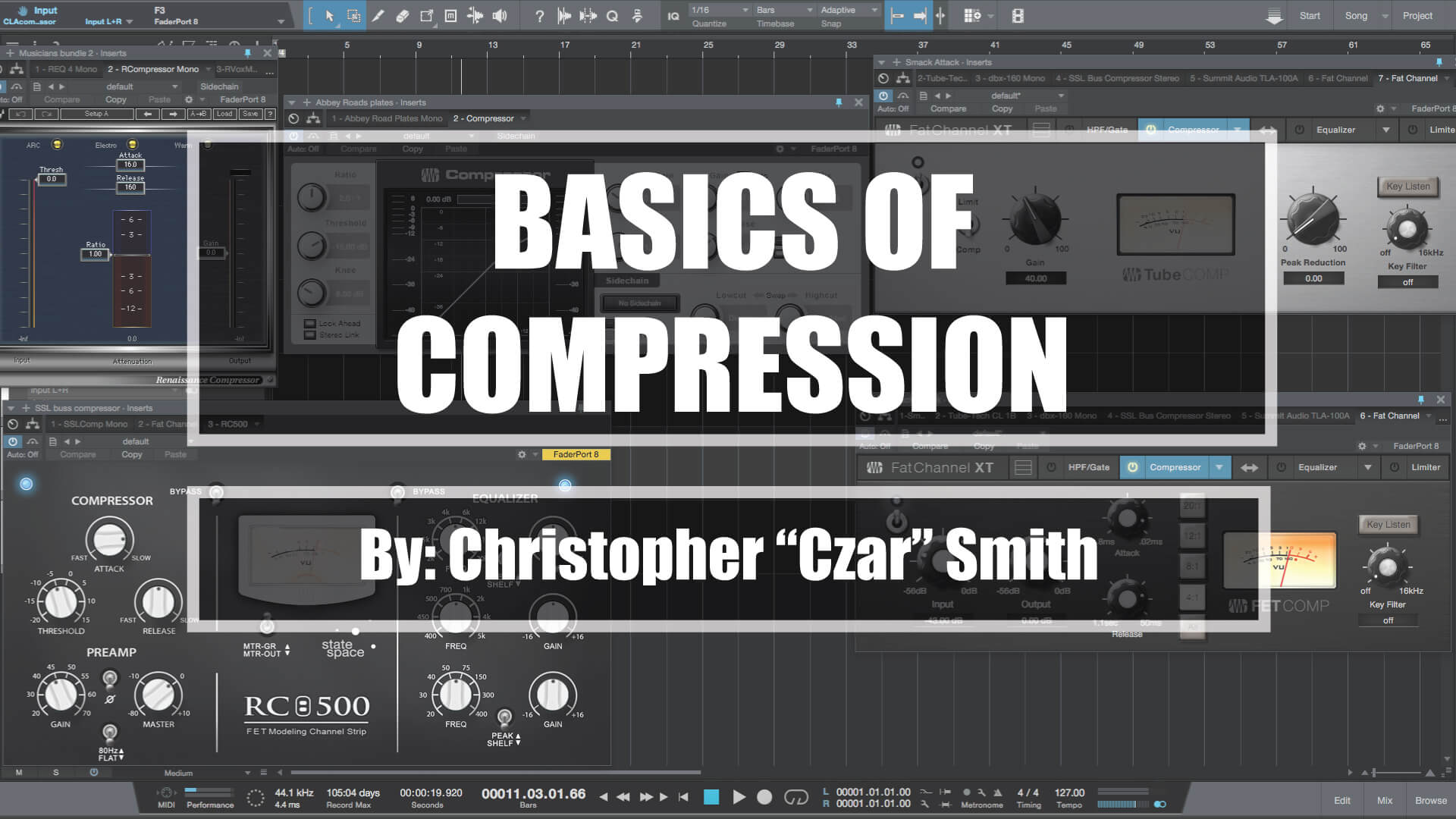 Dubstep Growl Production – Part 4 – Sidechain compression