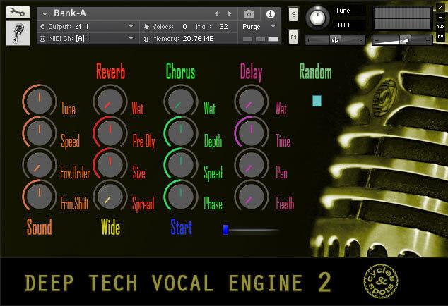 Deep Tech Vocal Engine 2