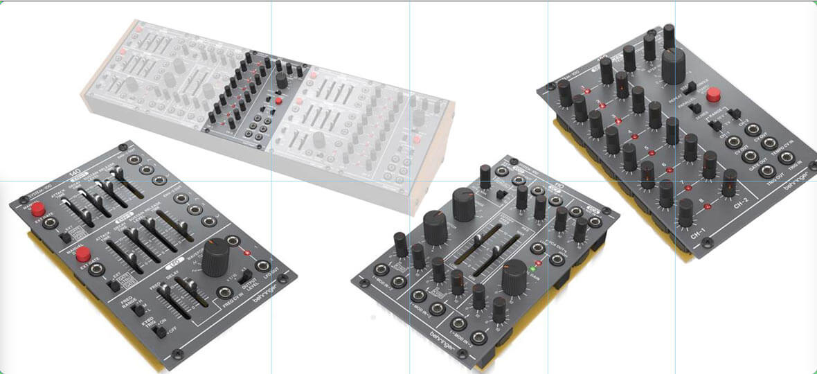 Behringer To Start Building Eurorack Modules
