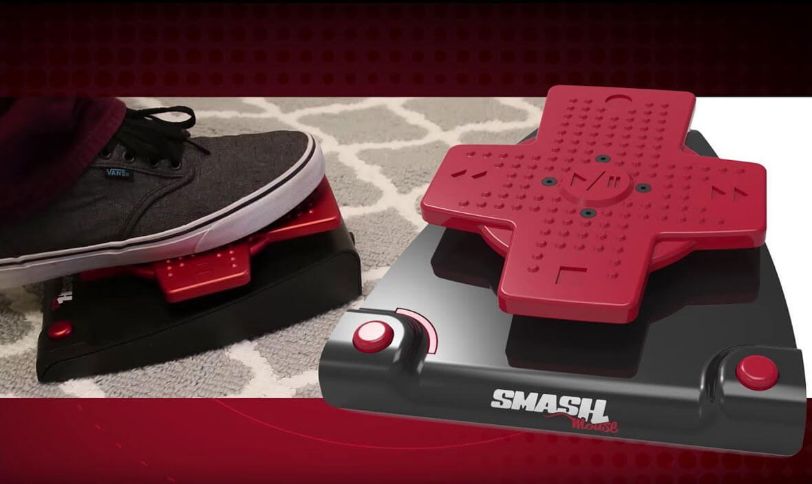 SMASHmouse Lets You Control Your DAW With Your Foot