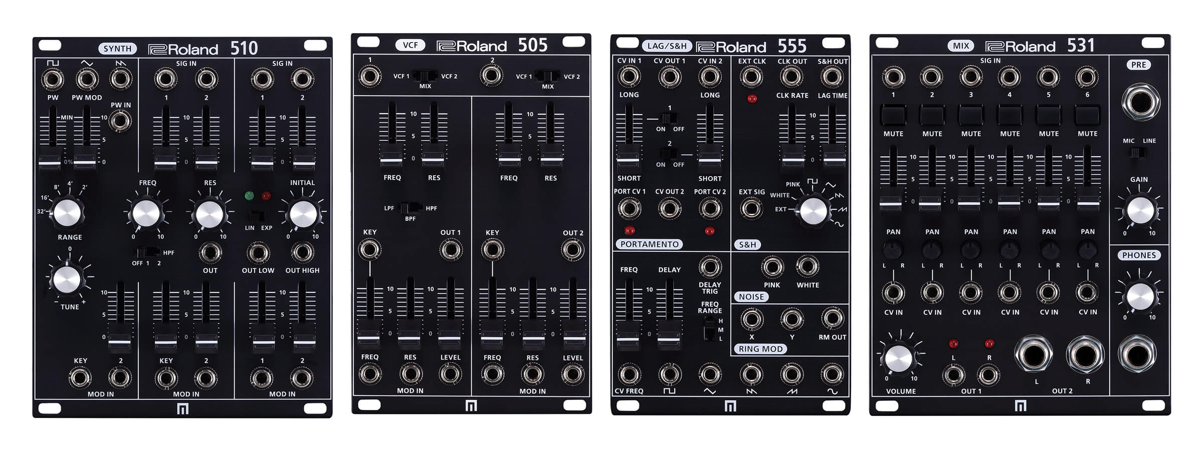 Roland Adds Four New Synths To SYSTEM-500 Modular Series