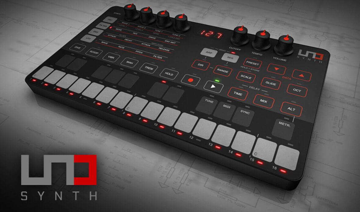IK Multimedia's Debut Synth, The UNO Synth, Offers True Analog Sound For $199
