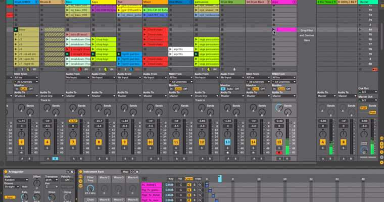 ableton-arrangement-to-session-view