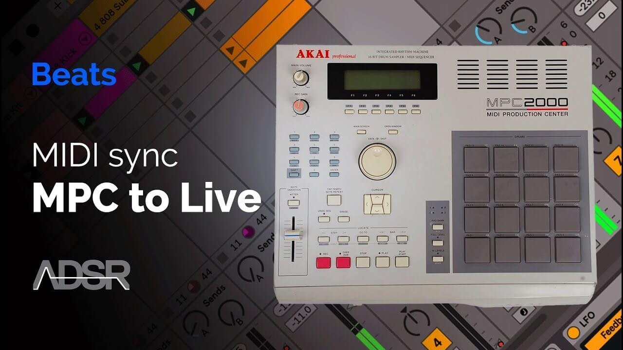 MIDI sync Akai's MPC 2000 with Ableton Live