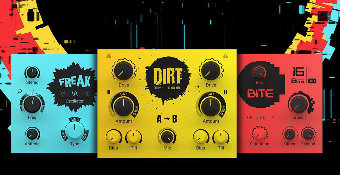 Native Instruments Launches EFFECTS SERIES - CRUSH PACK