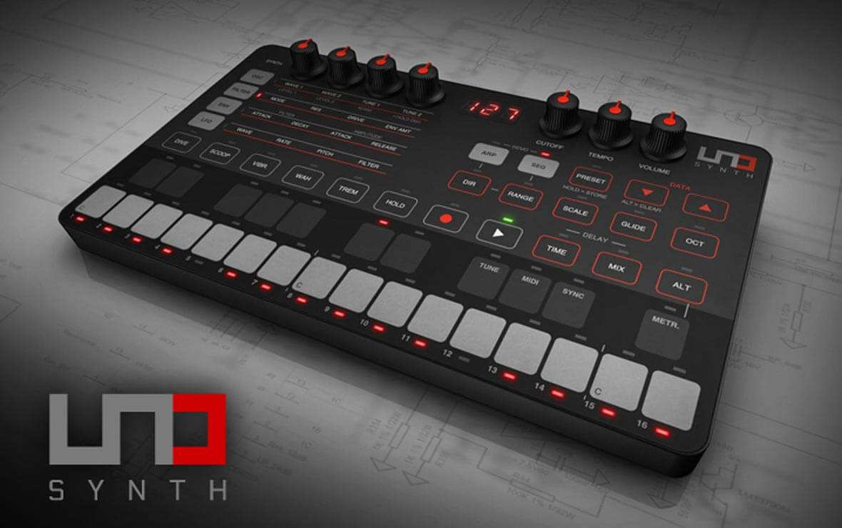 Feature Demos Of IK Multimedia's New UNO Synth