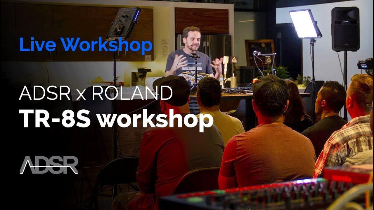 ADSR presents : Roland TR-8S & System 500 Workshop