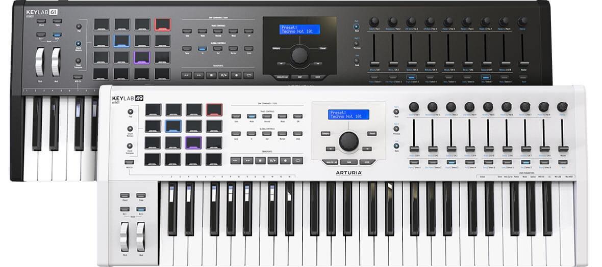 Inside Arturia's New KeyLab MkII MIDI Controller