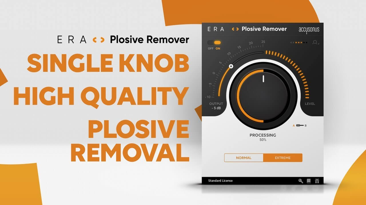 Video related to ERA - Plosive Remover