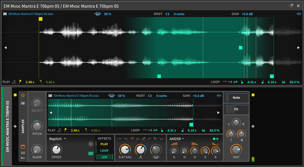 Bitwig Studio 2.4 Brings Granular Synthesis To Its Sampler