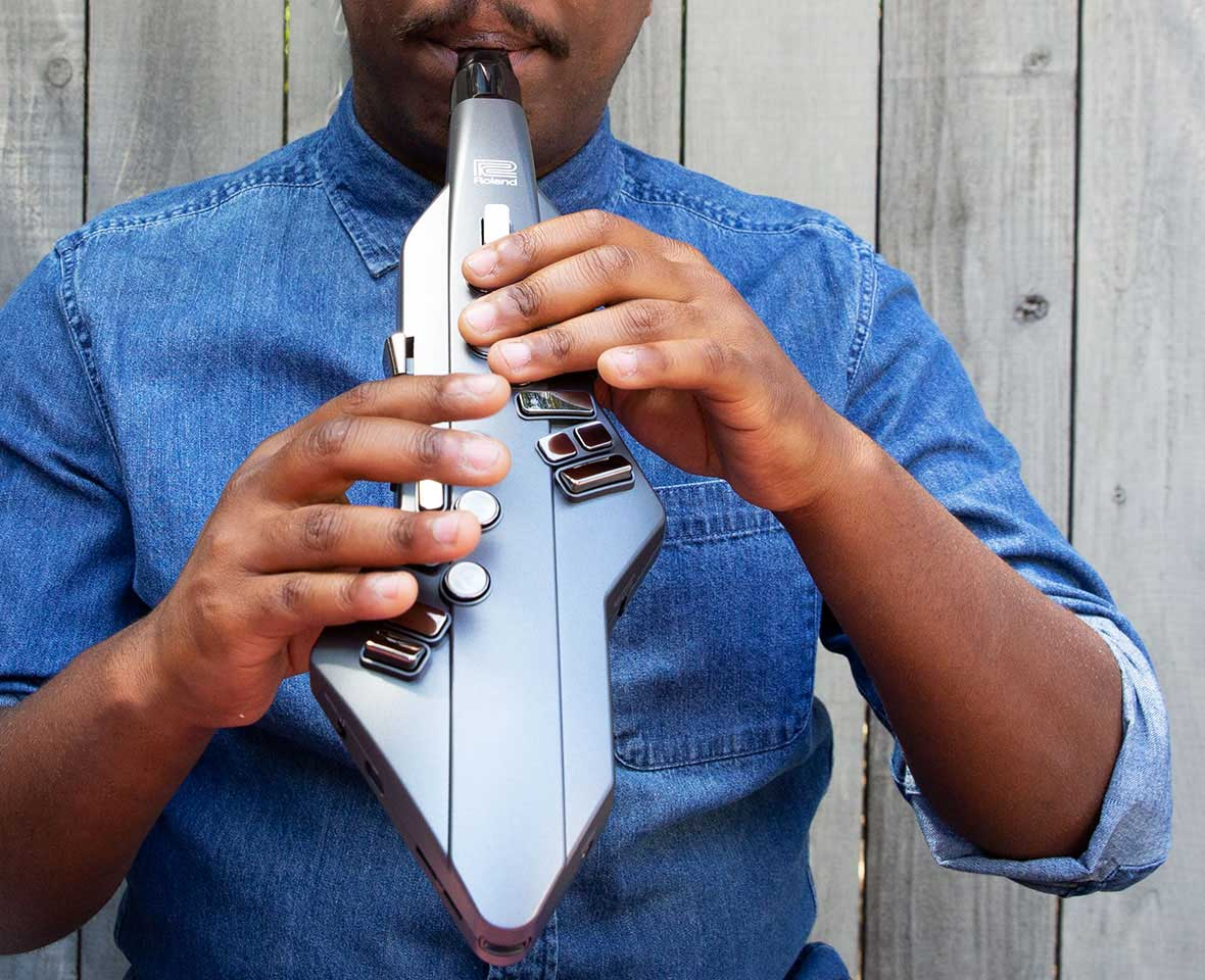 Roland Announces Aerophone GO, Digital Saxophone Instrument