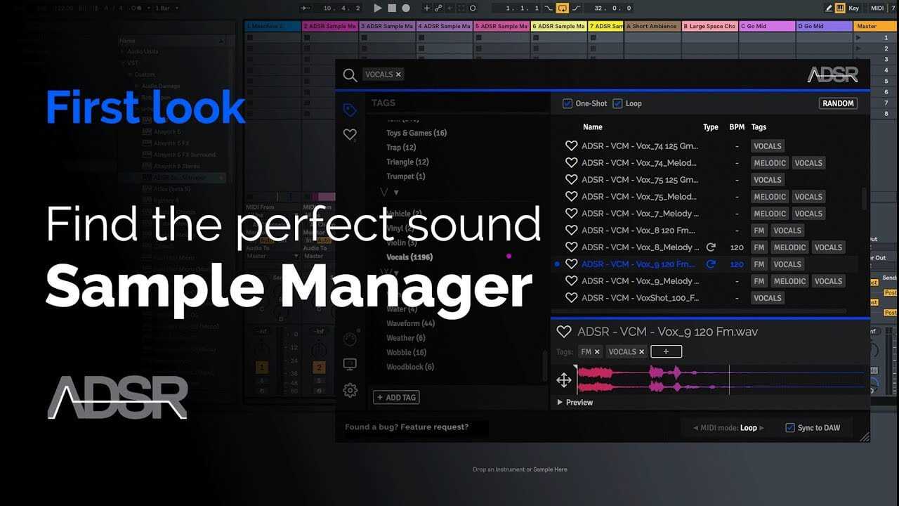 ADSR Sample Manager First Look