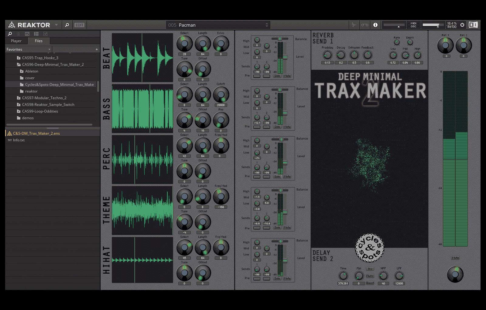 Deep Minimal Trax Maker 2