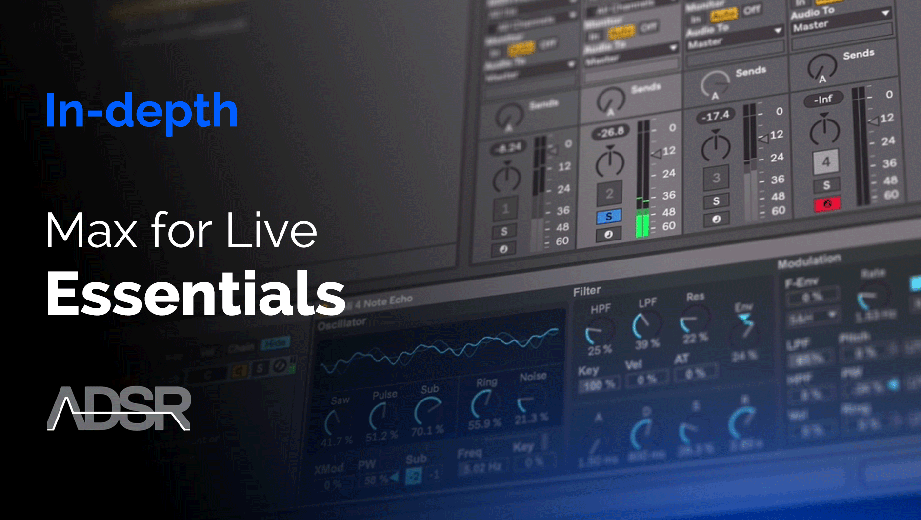 Max for Live Essentials - Control Devices