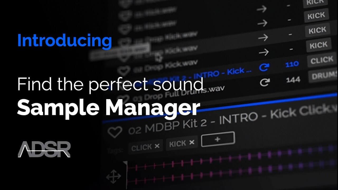 Promo - ADSR Sample Manager