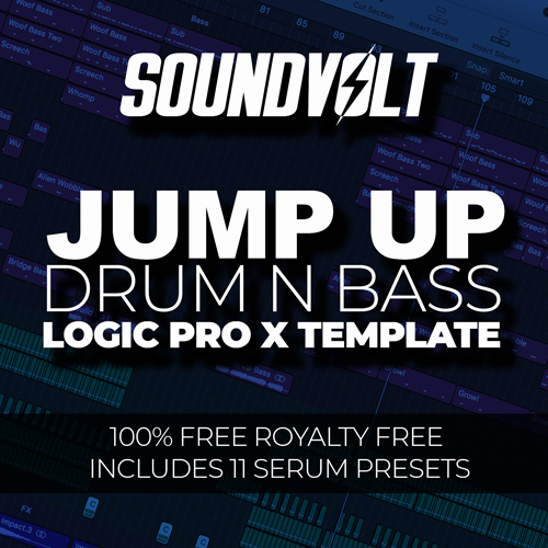 Jump Up DnB Logic Pro X Template