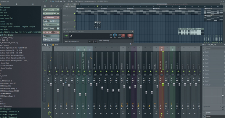 track-arrangement