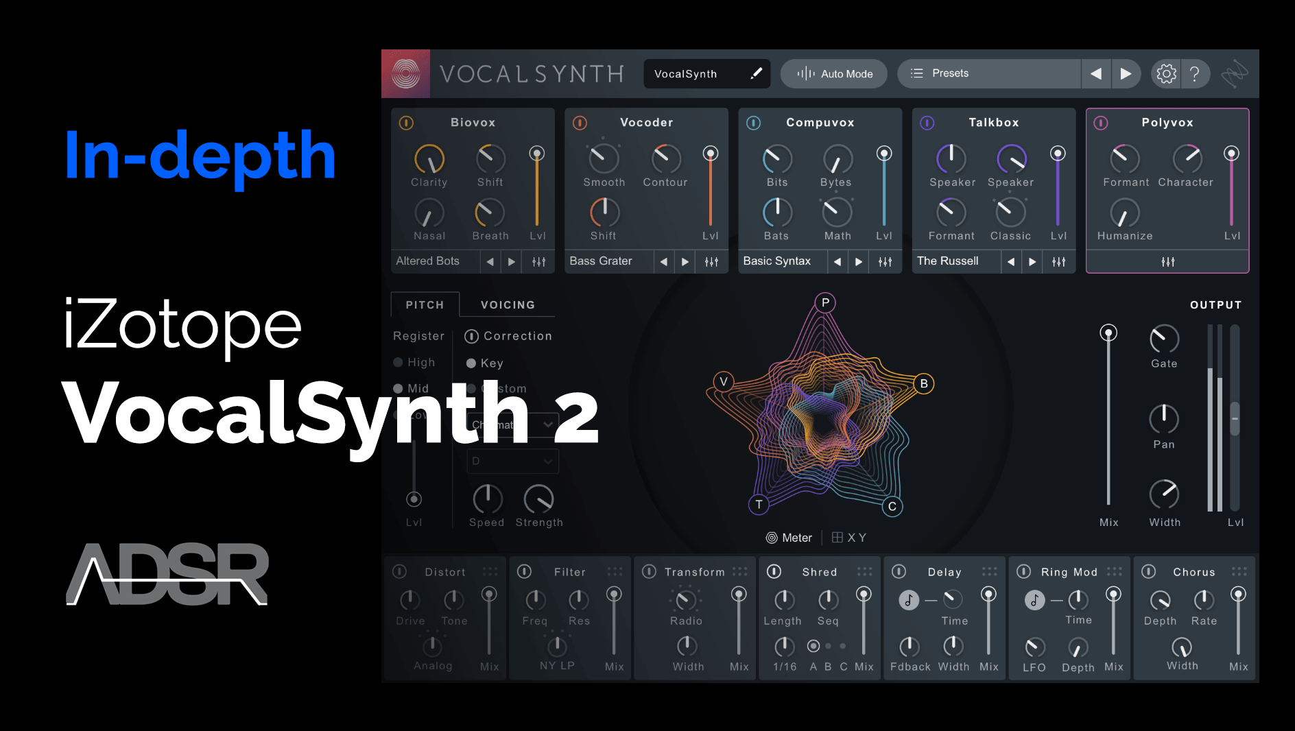 Learn how to master VocalSynth 2 from iZotope