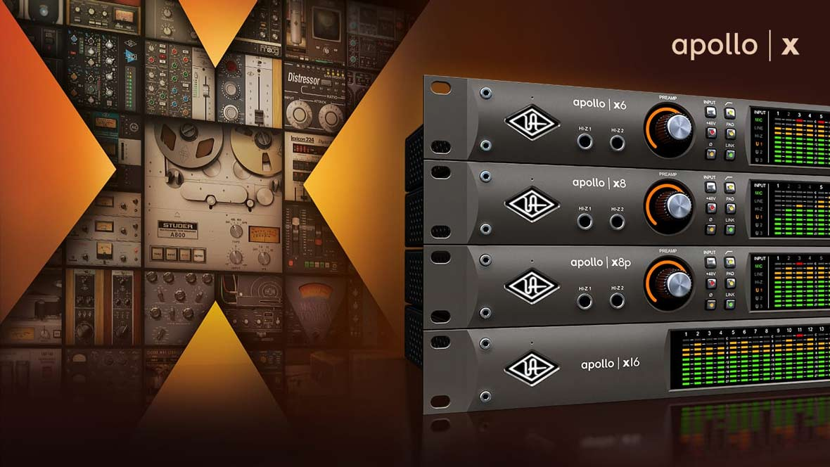 Universal Audio Announces New Apollo X Thunderbolt 3 Audio Interfaces for Mac and Windows