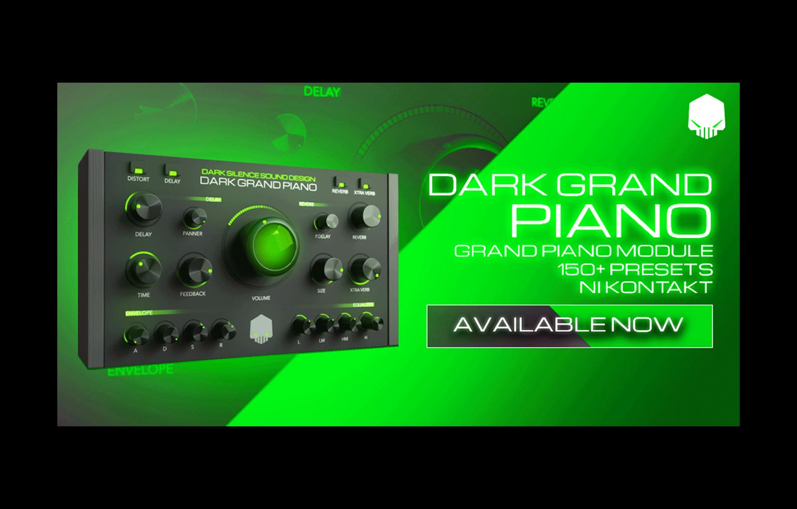 Dark Grand Piano - ADSR