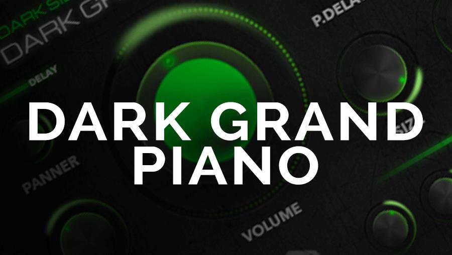 Dark Grand Piano
